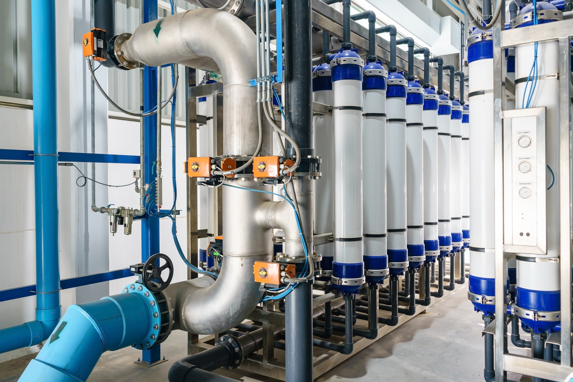Water Filtration & Treatment Plants